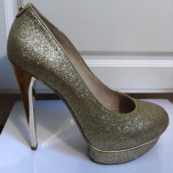 sparkly michael kors shoes